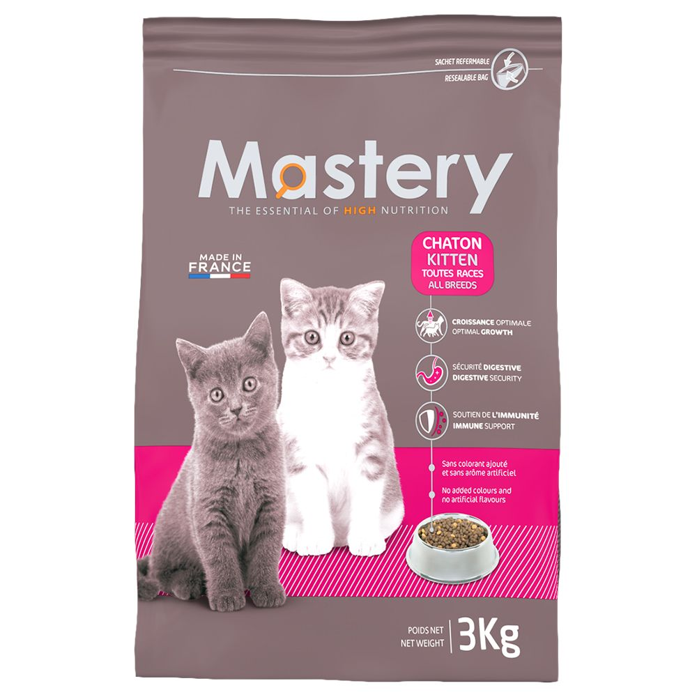 Chat Croquettes Mastery Mastery chaton