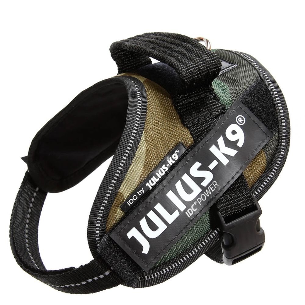 JULIUS-K9 IDC®-Powergeschirr - camouflage - Größe Mini Mini: Brustumfang 40 - 53 cm