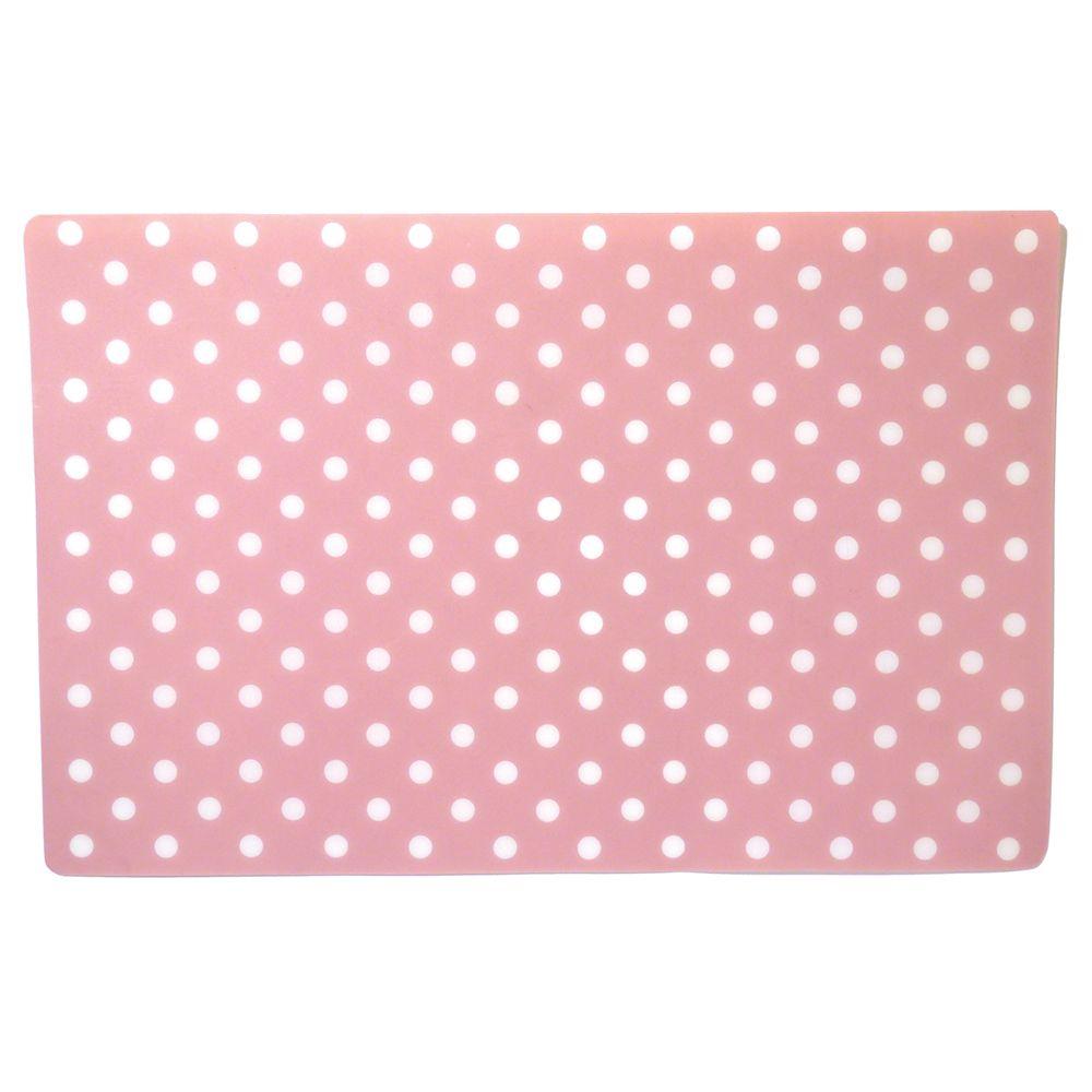 Rosewood Placemat - Pink Polka Dot