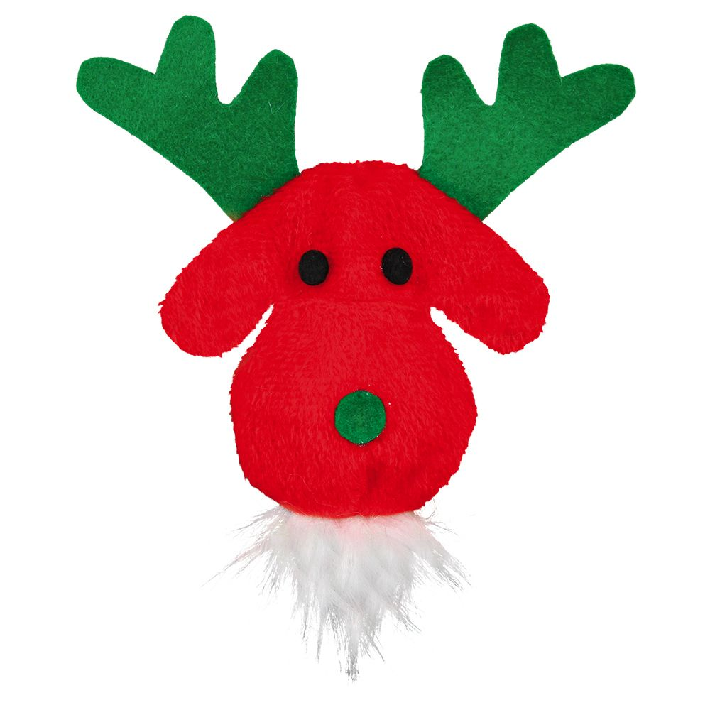 Trixie Cat Toy Reindeer with Catnip