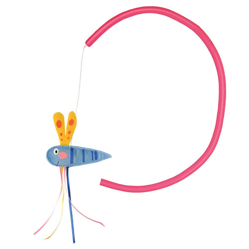 Jouet KONG Connects Benderz Libellule pour chat - 1 jouet