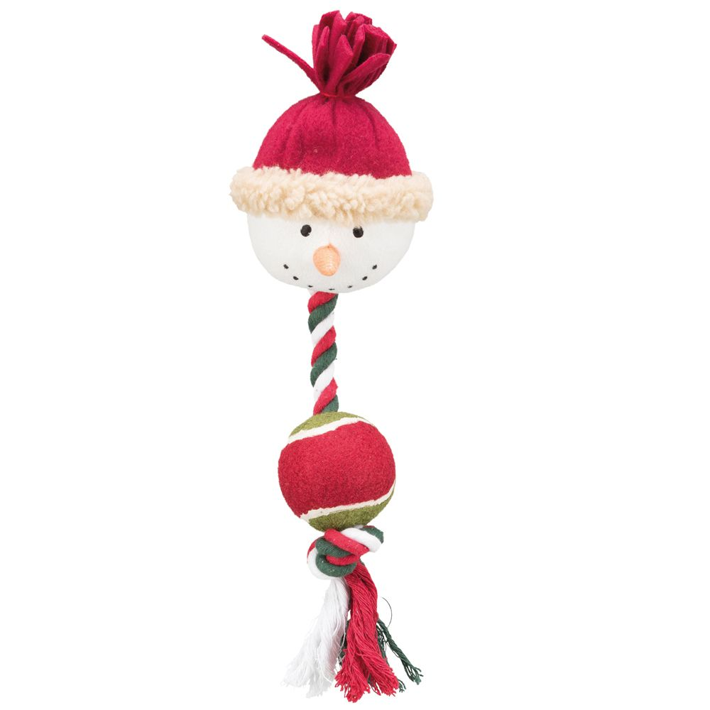 Trixie Snowman Dog Toy