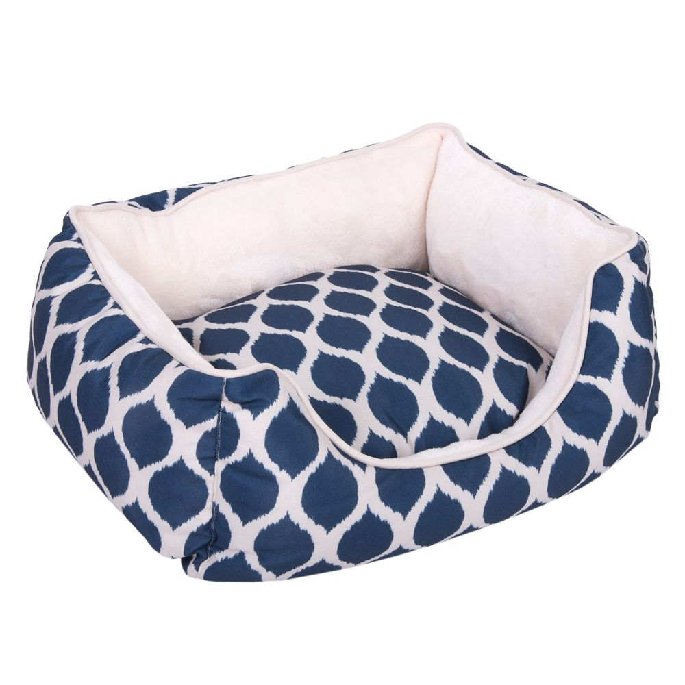 Blue Print Snuggle Bed