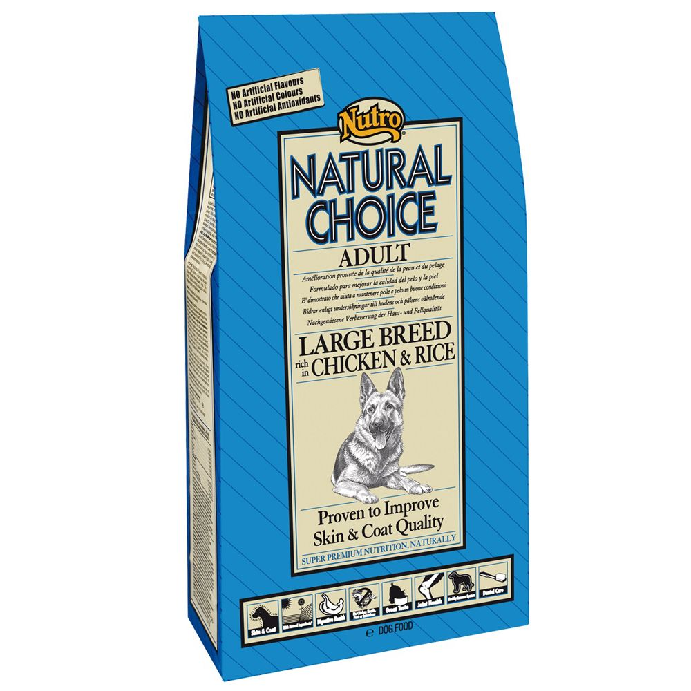 Chien Croquettes Nutro Choice Adulte grandes races