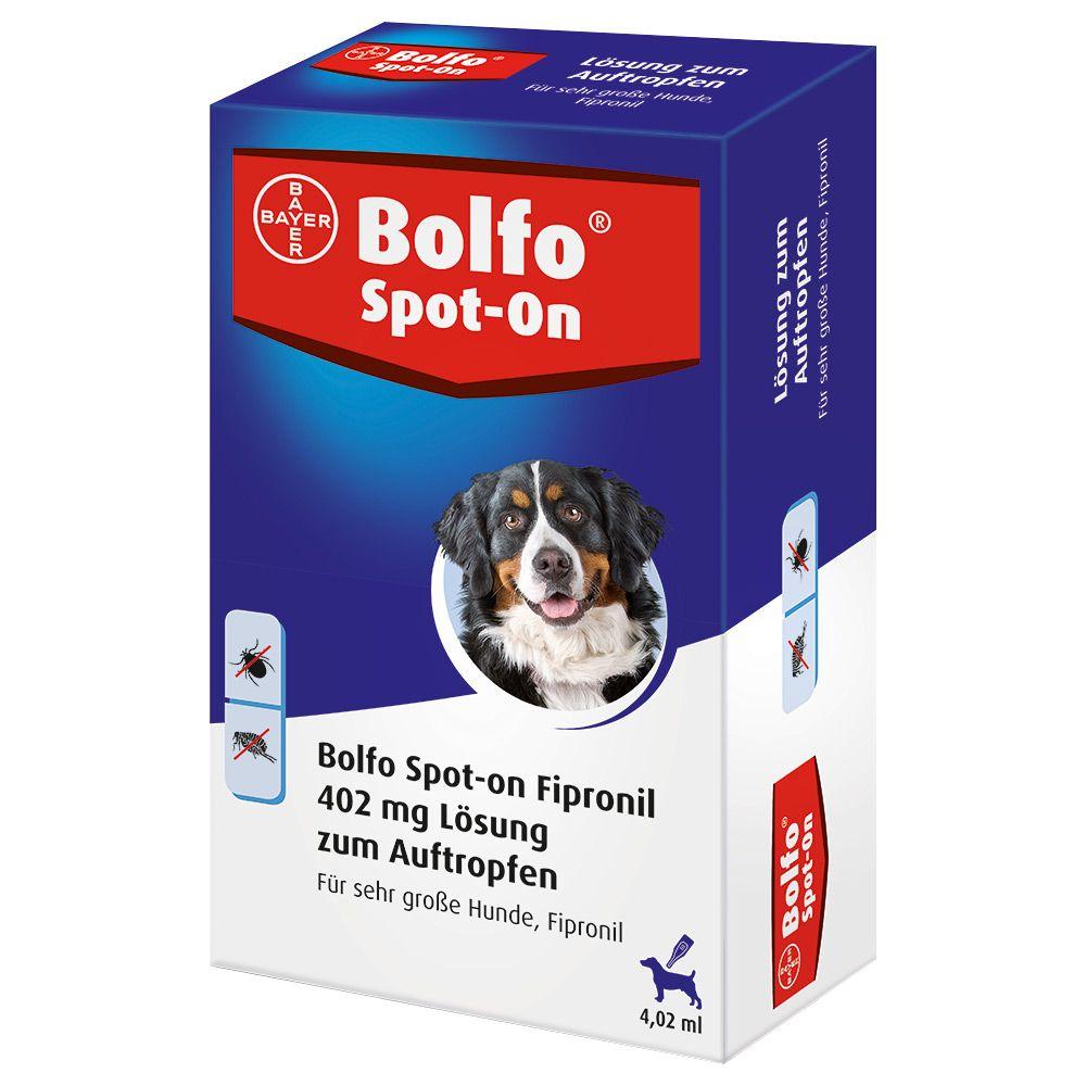 Bolfo Spot-on sehr große Hunde bis 60 kg - 3 Pi...