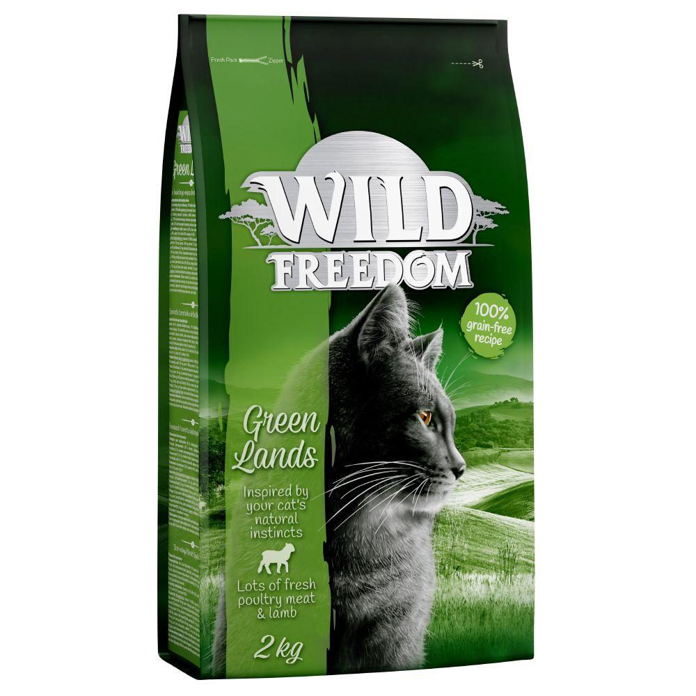 Black Week- erbjudande: 150 kr rabatt på 3 x 2 kg Wild Freedom torrfoder katt - Spirit of Europe