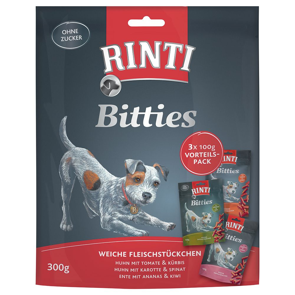 Image of Rinti Bitties Mixpack 3 x 100 g - Mix 3 Sorten