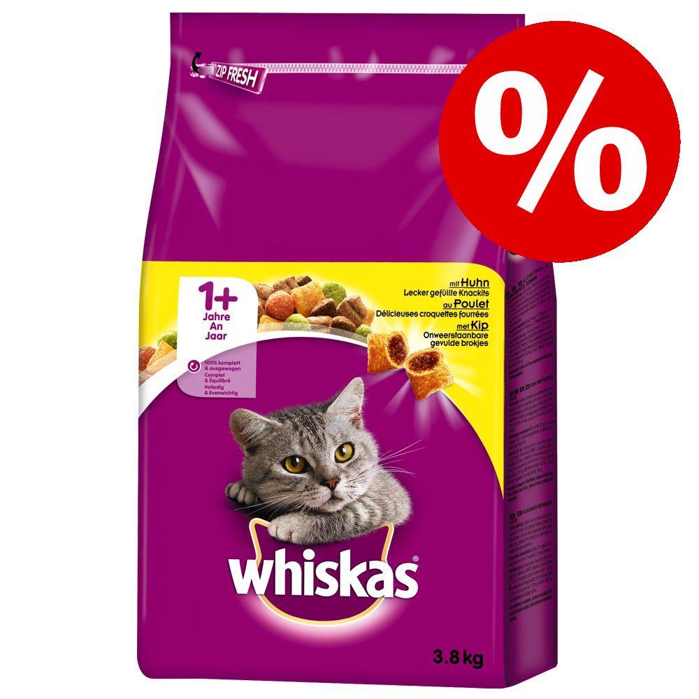 20 % rabatt! Whiskas torrfoder för katt - 7+ Senior Kyckling (800 g)