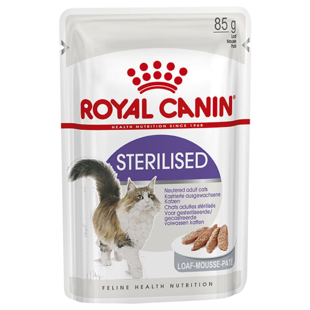Royal Canin Sterilised Loaf 12 x 85g