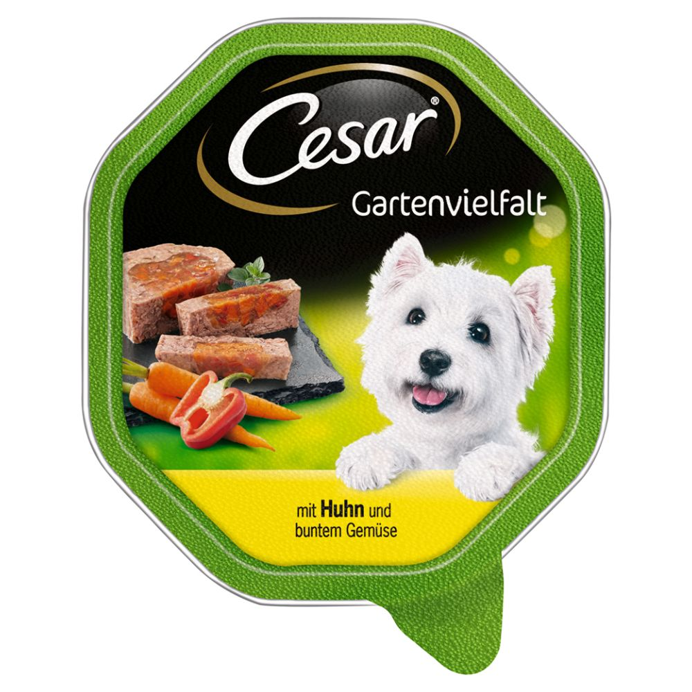 Cesar Garden Selection Trays 14 x 150g