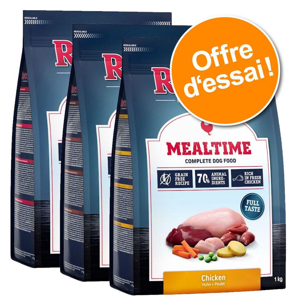3x1kg Rocco Mealtime - Croquettes pour chien