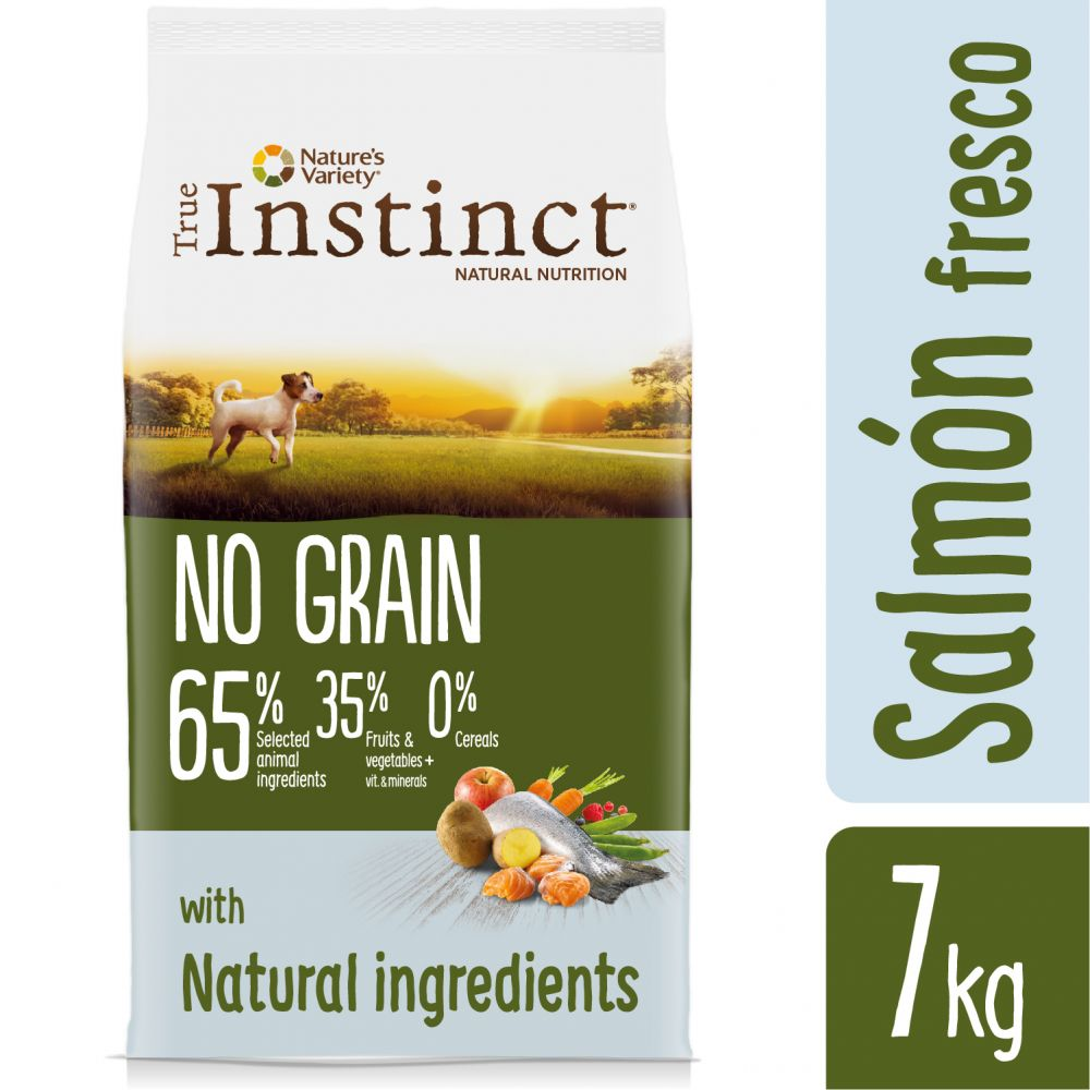 True Instinct No Grain Mini con salmón - 2 x 7 kg - Pack Ahorro