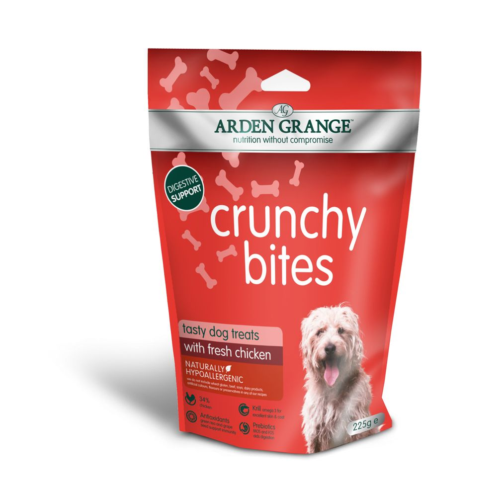 Chicken Crunchy Bites Arden Grange Dog Treats