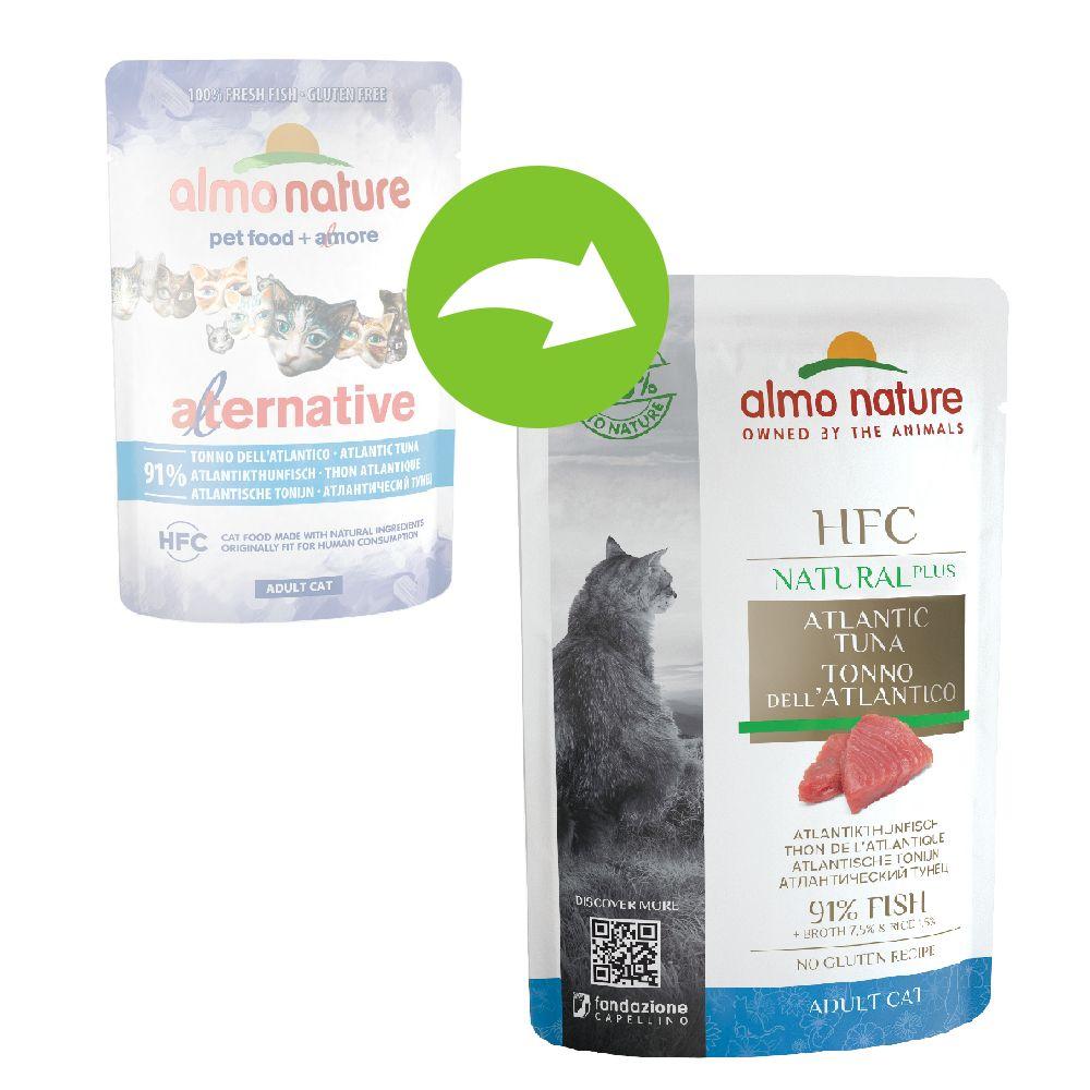 Almo Nature HFC Natural Plus 6 x 55 g - Sardiner
