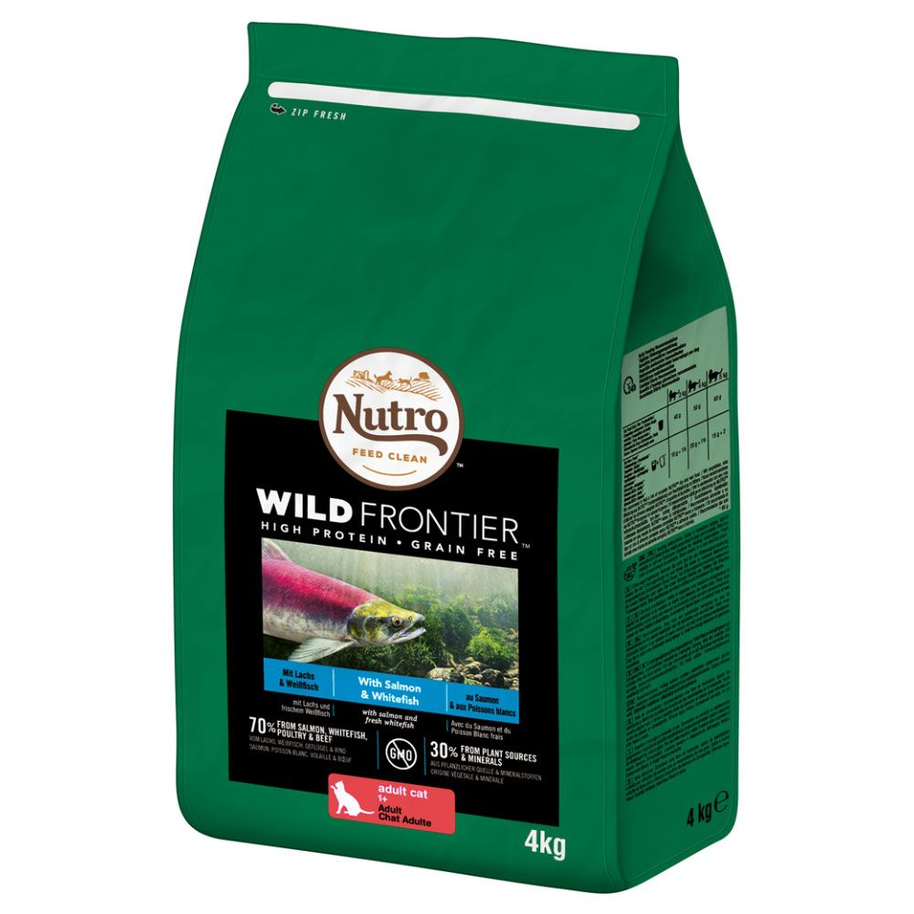 4kg Nutro Wild Frontier Dry Cat Food