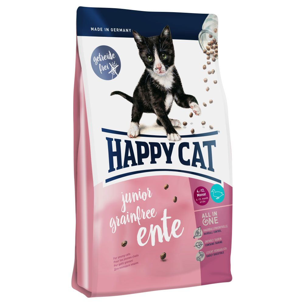 Happy Cat Junior Grain-Free Duck Dry Food