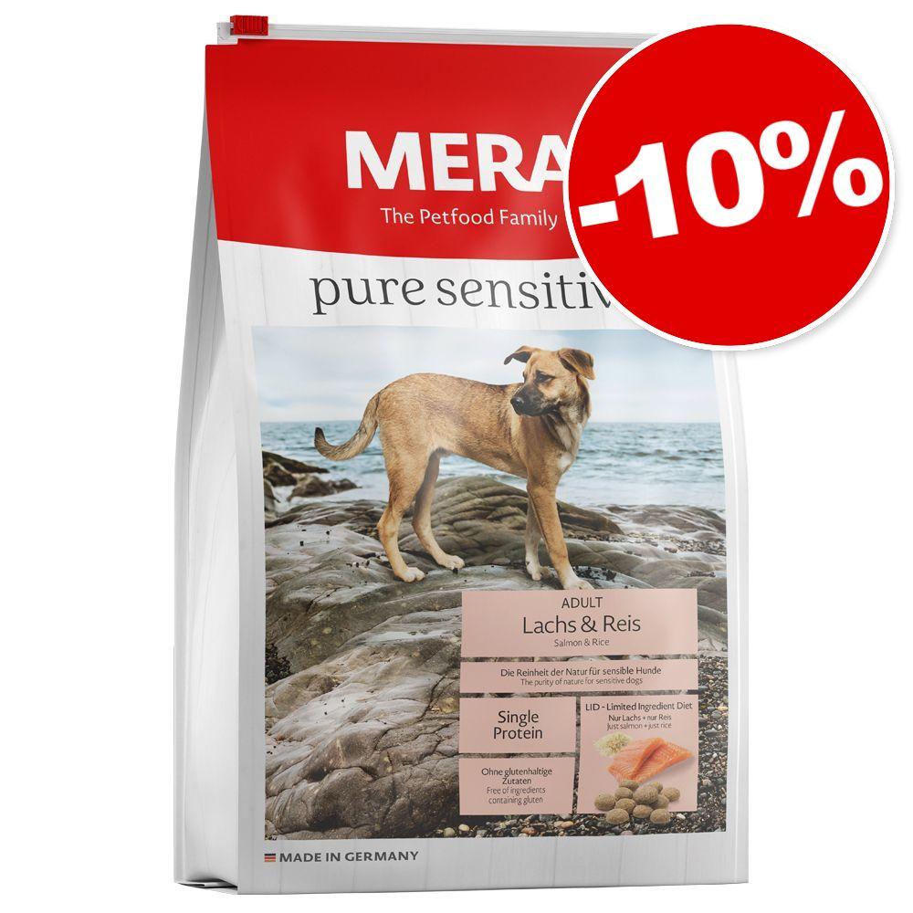 Croquettes MERA pure 12,5 kg : 10 % de remise ! - Pure sensitive Junior dinde, riz (pour chiot)