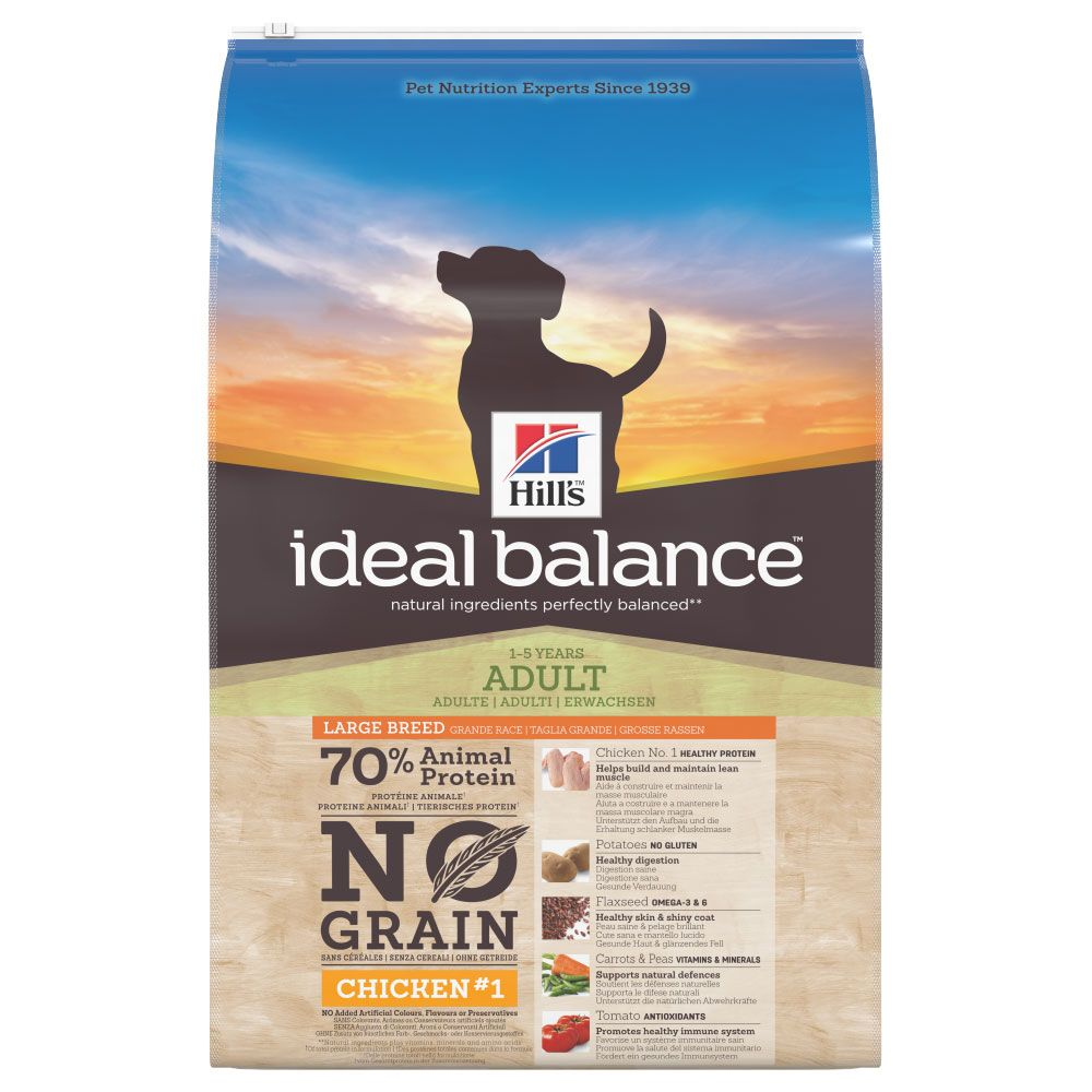 Click to view product details and reviews for Hills Ideal Balance Adult Large Breed No Grain Chicken Potato 12kg.