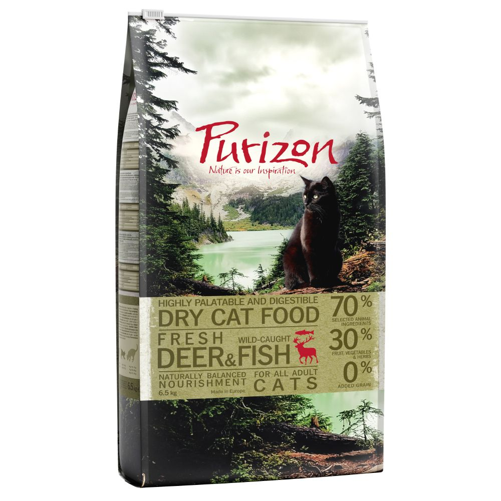 Adult Deer & Fish Purizon Dry Cat Food