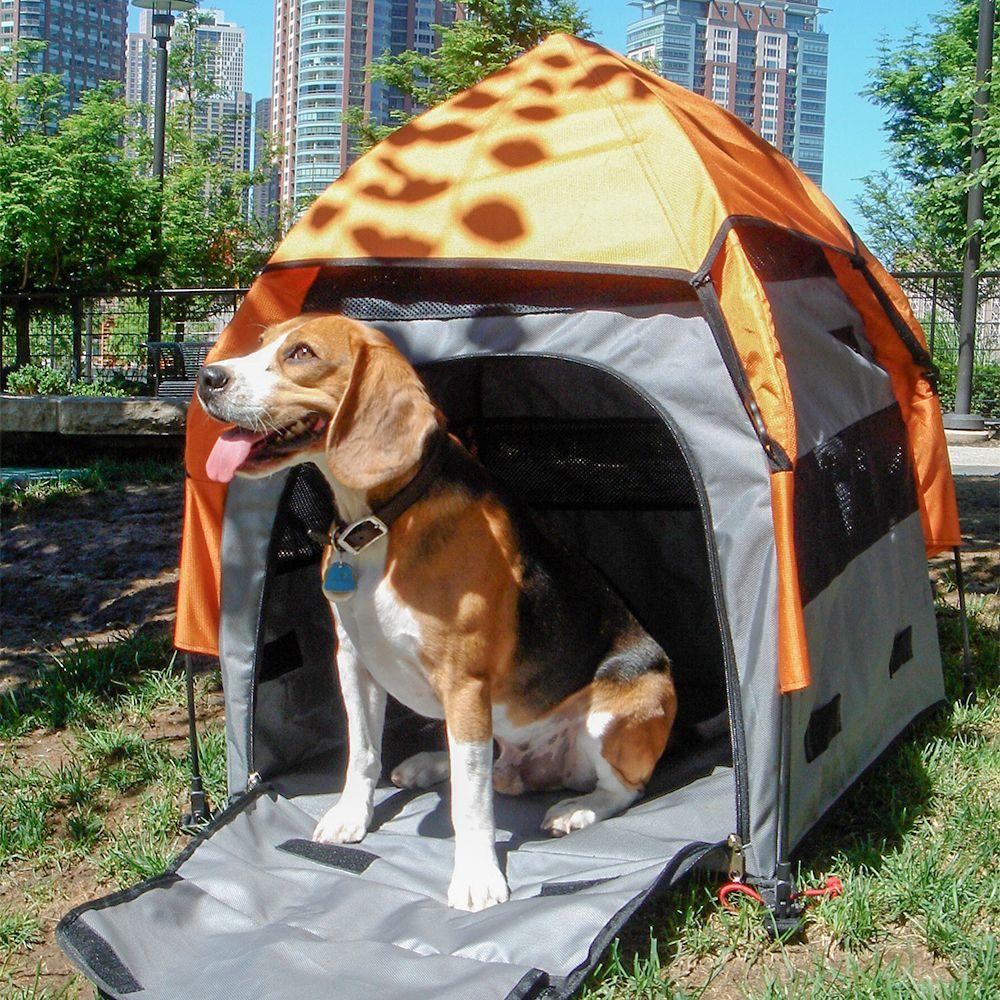 PetEgo® UPet Tent mobil bur / hundtält - Stl. M: B 75 x T 75 x H 80 cm