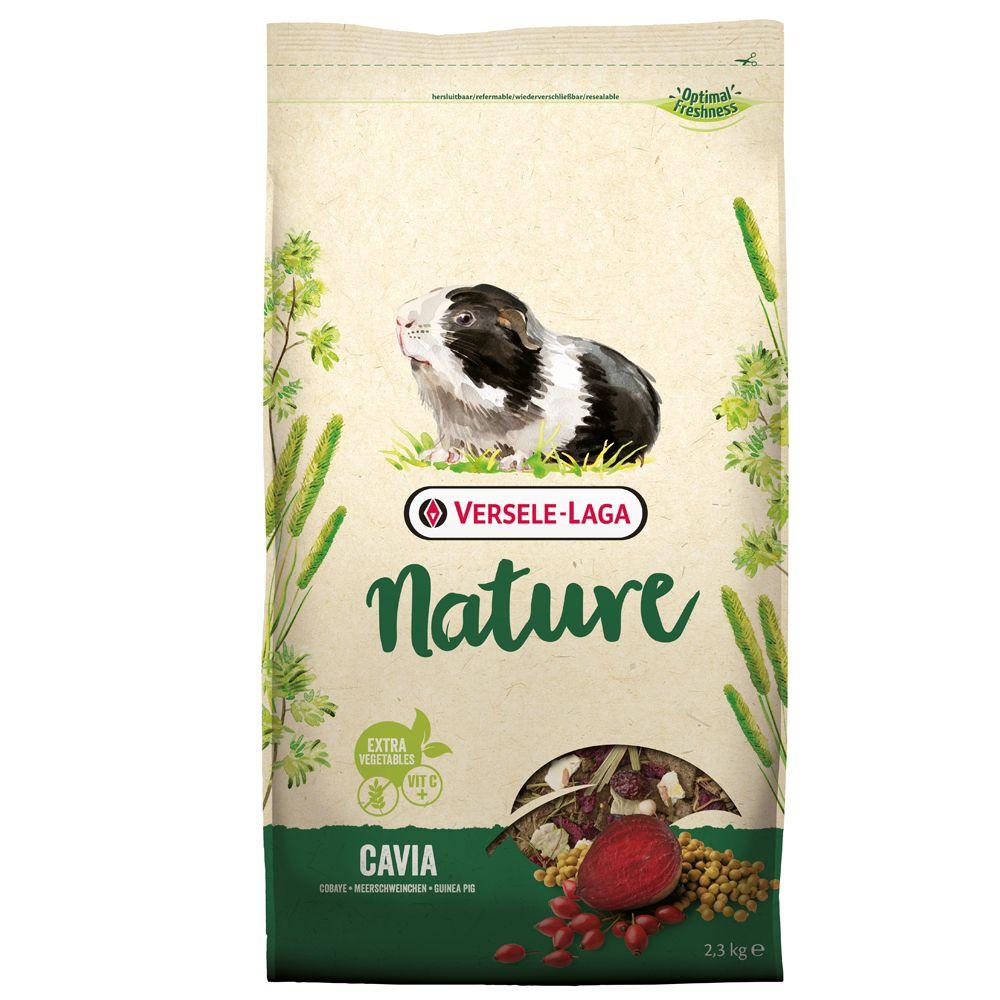 9kg Versele-Laga Nature Cavia - Nourriture pour cochon d'inde