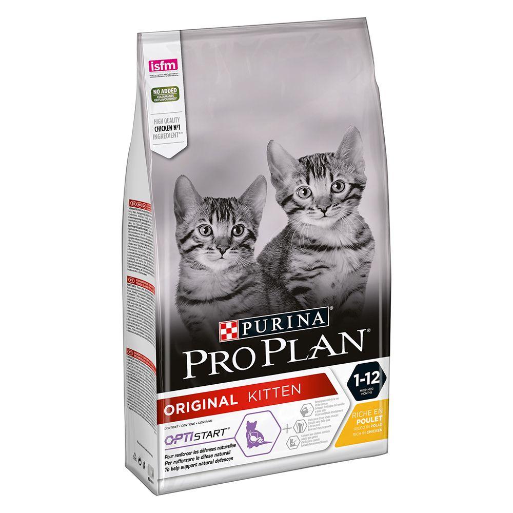 PURINA PRO PLAN Original Kitten reich an Huhn - 3 kg