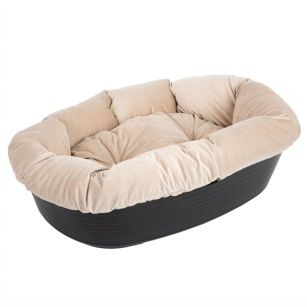 Ferplast Siesta Deluxe Dog Basket with Cover