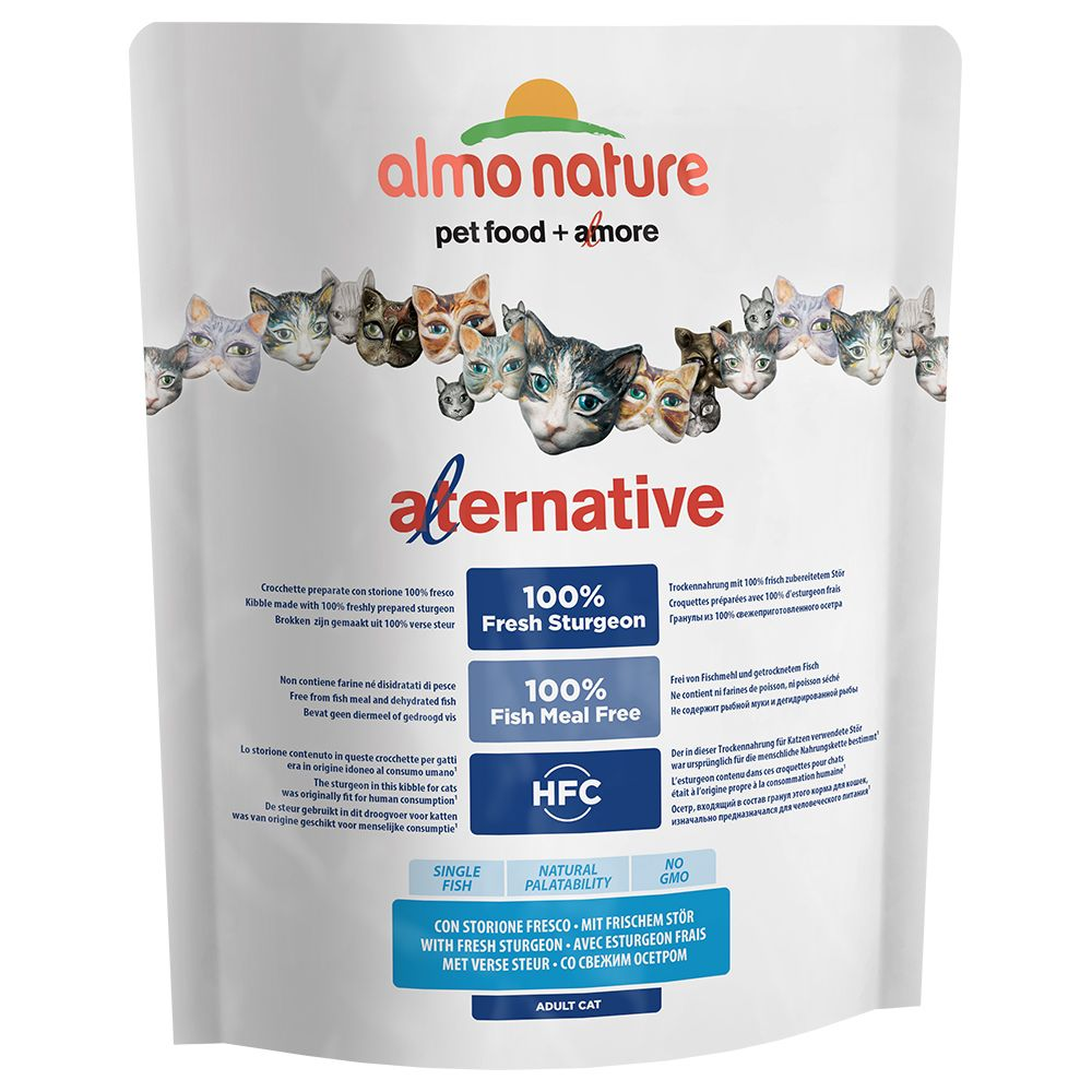 Almo Nature HFC Alternative Cat - Fresh Sturgeon - 2 kg