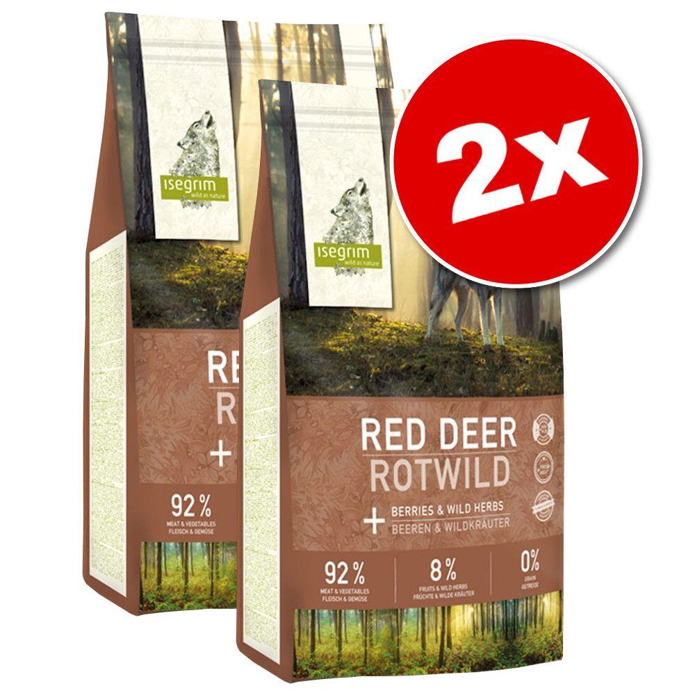 2x12kg Isegrim Junior River saumon - Croquettes pour chien