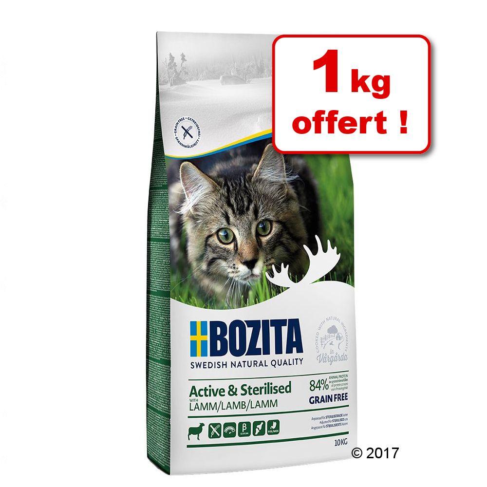 9kg Feline Outdoor & Active Bozita Croquettes pour chat + 1kg offert!