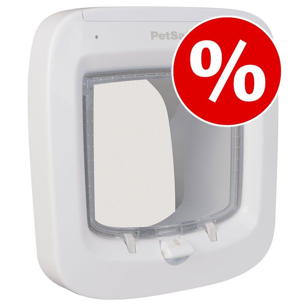 PetSafe Microchip Katzenklappe zum Sonderpreis! - PetSafe Katzenklappe weiß