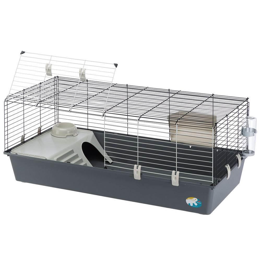 Ferplast Rabbit 120 Large Cage Grey