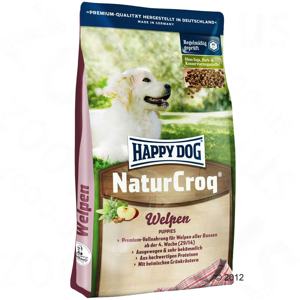 Chien Croquettes Happy Dog Natur NaturCroq