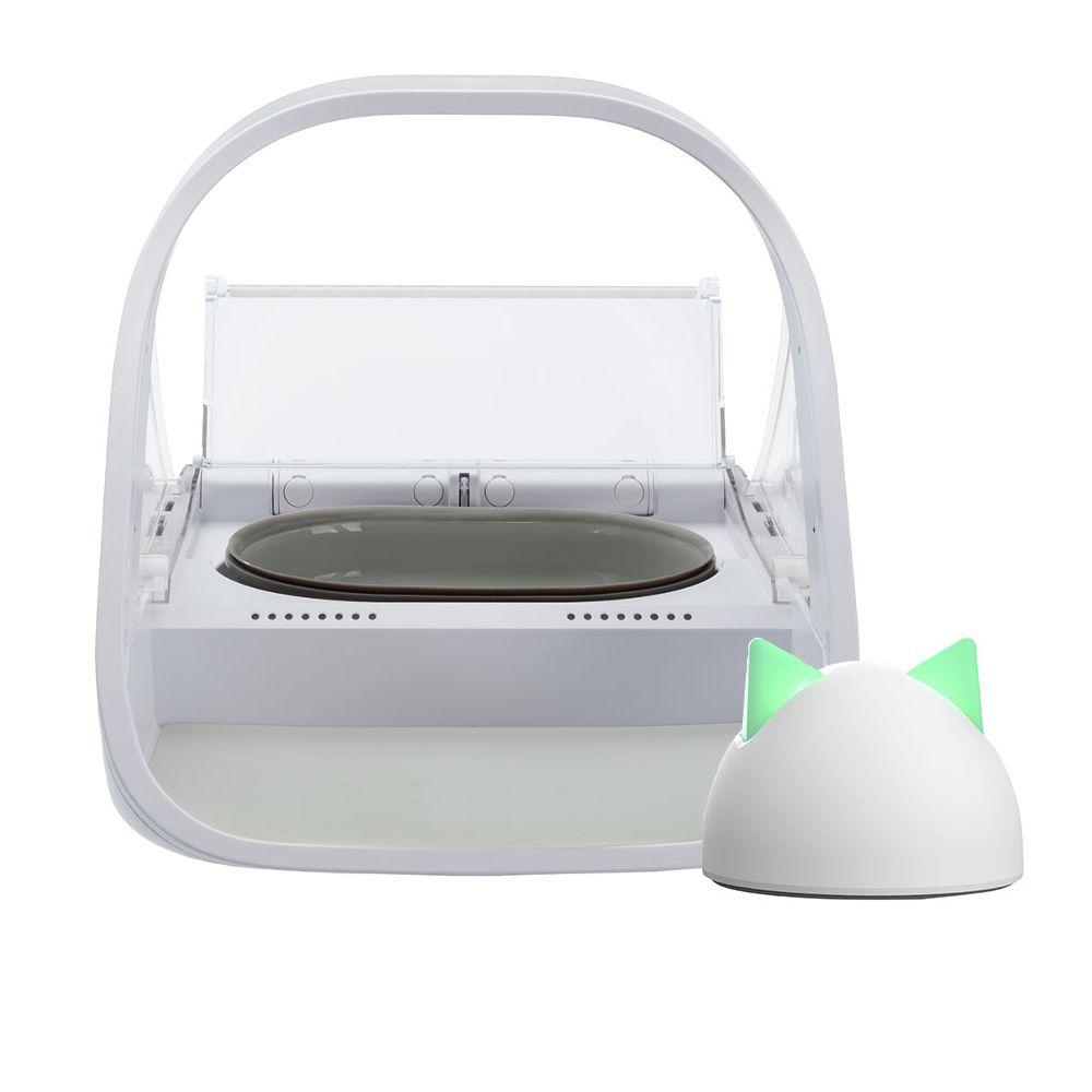 SureFeed Mikrochip Futterautomat Connect - SureFeed Näpfe und Matte grün