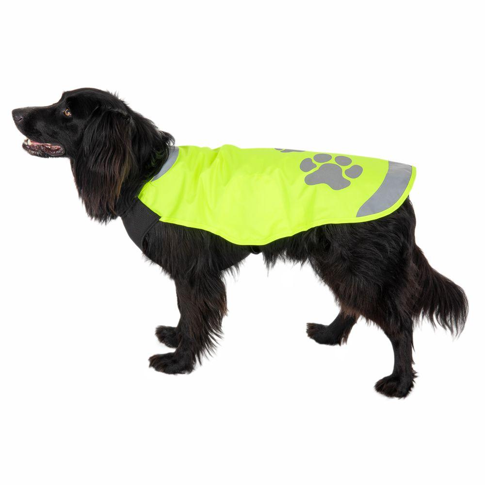 Vattentät reflexväst för hund – ca 38 cm rygglängd