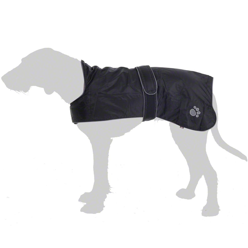Trixie Dog Jacket Tcoat Orleans Black 55cm Back Length