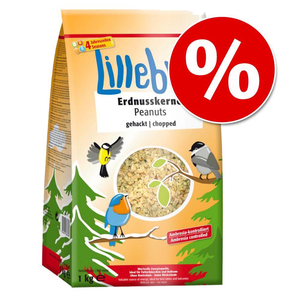 Sparpris: 3 x 1 kg Lillebro jordnötter hackade – 3 x 1 kg