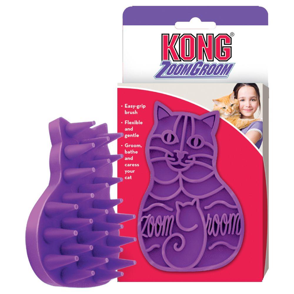 Kong Cat Zoom Groom kattborste - ca 11,4 x 7 x 3 cm