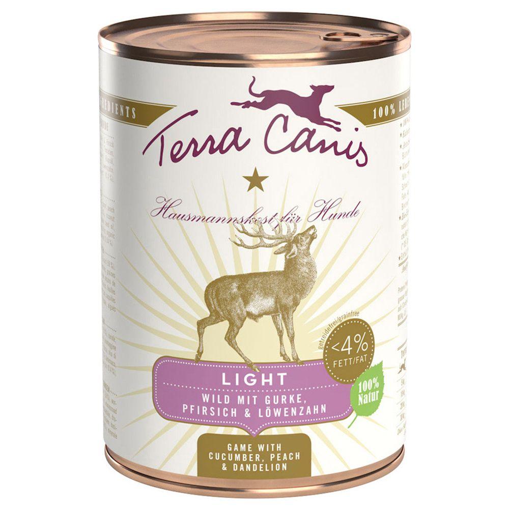 Terra Canis Light 6 x 400g - Venison