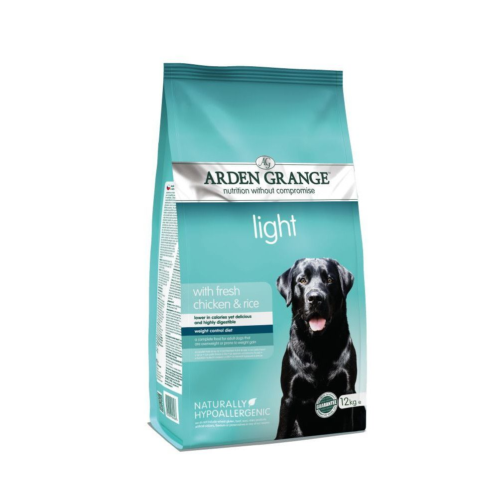 Arden Grange Adult Light Chicken & Rice Dry Dog Food