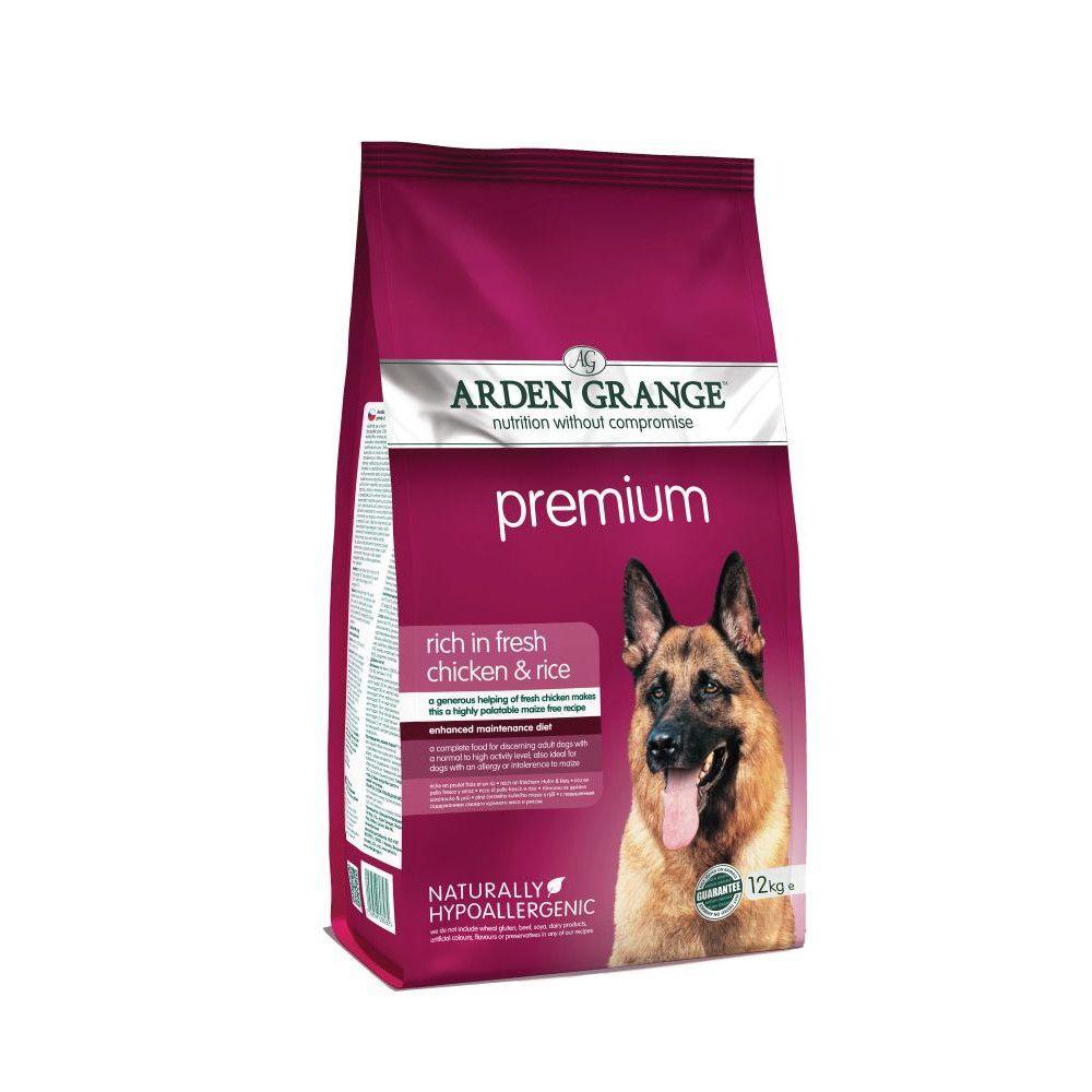 Arden Grange Adult Premium - Chicken & Rice - 12kg
