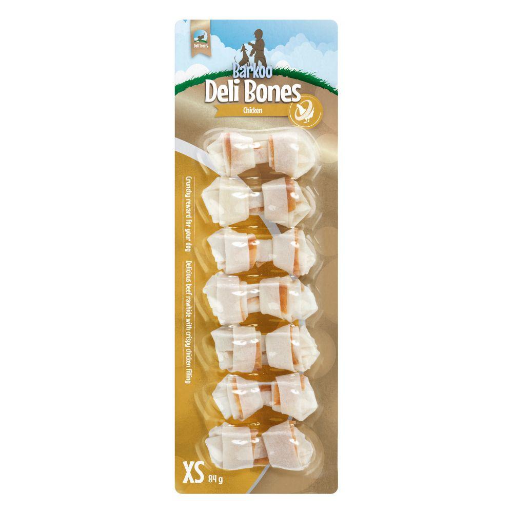 Image of Barkoo Ossi annodati Deli Bones Chicken - Set %: M, 3 pz da 14 cm (195 g)