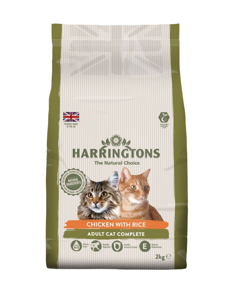 2kg Harringtons Dry Cat Food