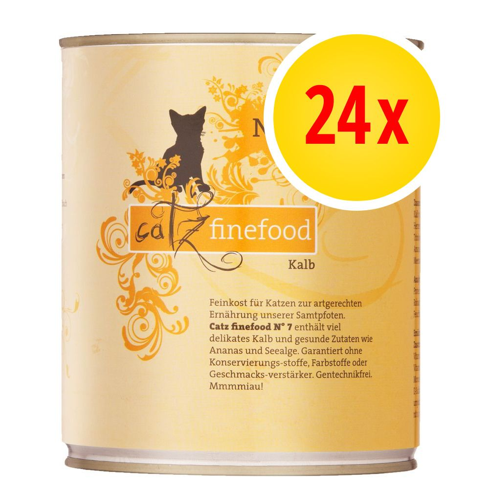 Image of Catz Finefood im Sparpaket 24 x 800 g - Geflügel