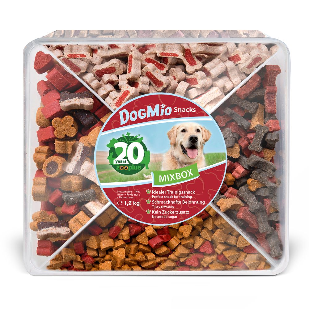 DogMio Barkis Dog Snack Box 3 x 450g