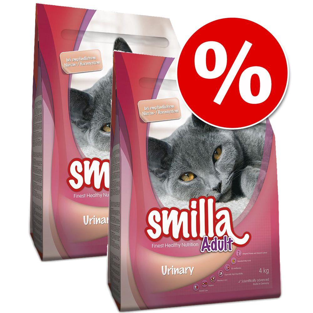 2 x 4 kg Smilla torrfoder - Urinary