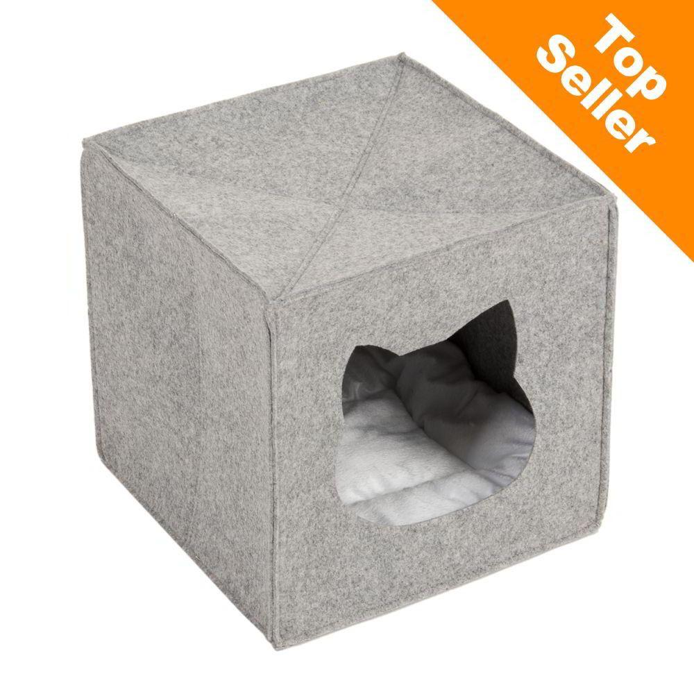 Kattgrotta för hyllor - L 33 x B 33 x H 33 cm