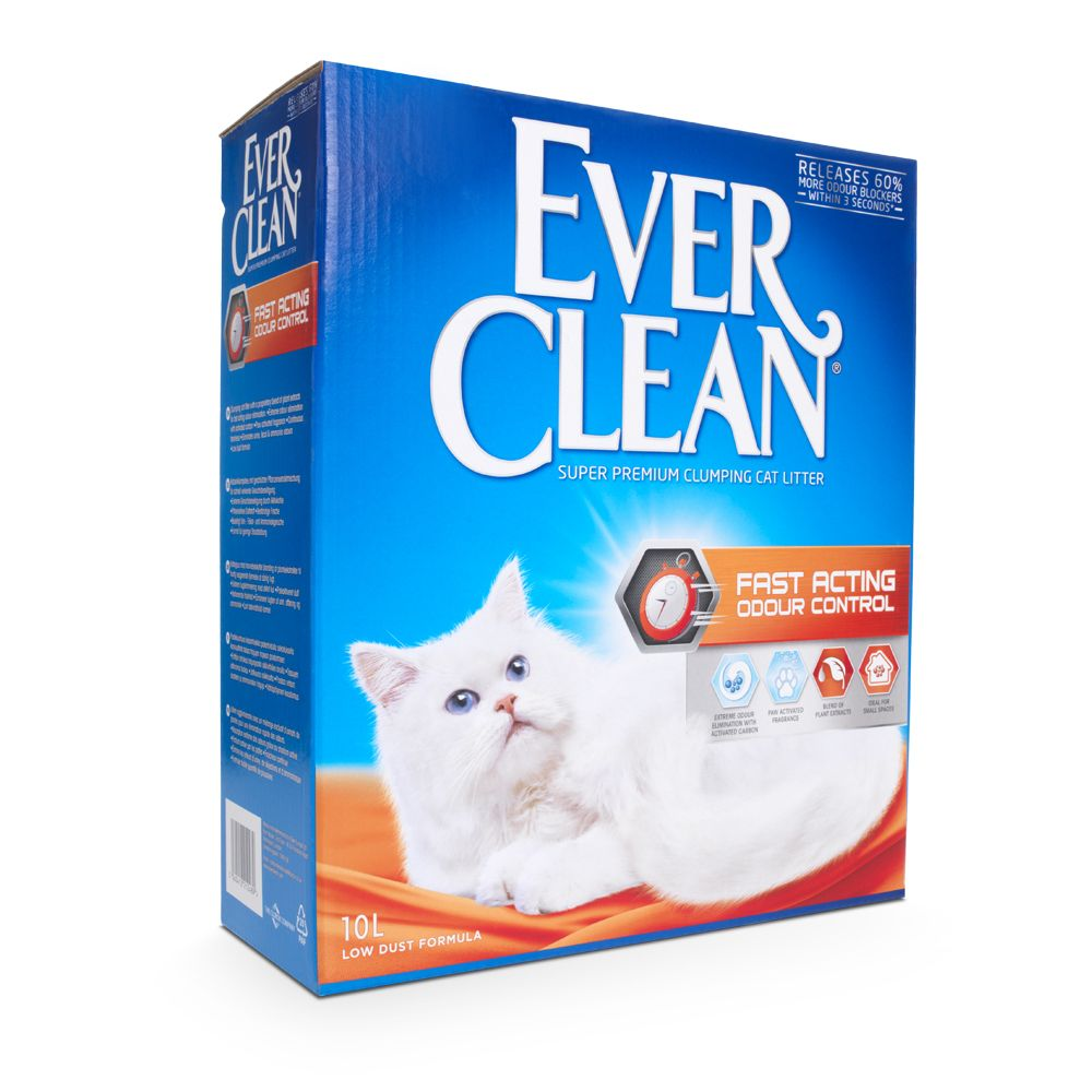 10l Ever Clean Fast Acting Odour Control Cat Litter