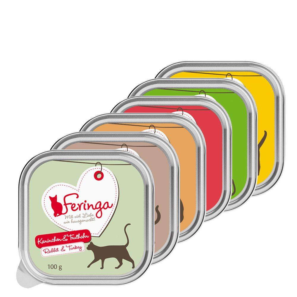 Mieszany pakiet próbny Feringa w miseczkach 6 x 100 g - Mieszany pakiet próbny II (6 smaków)