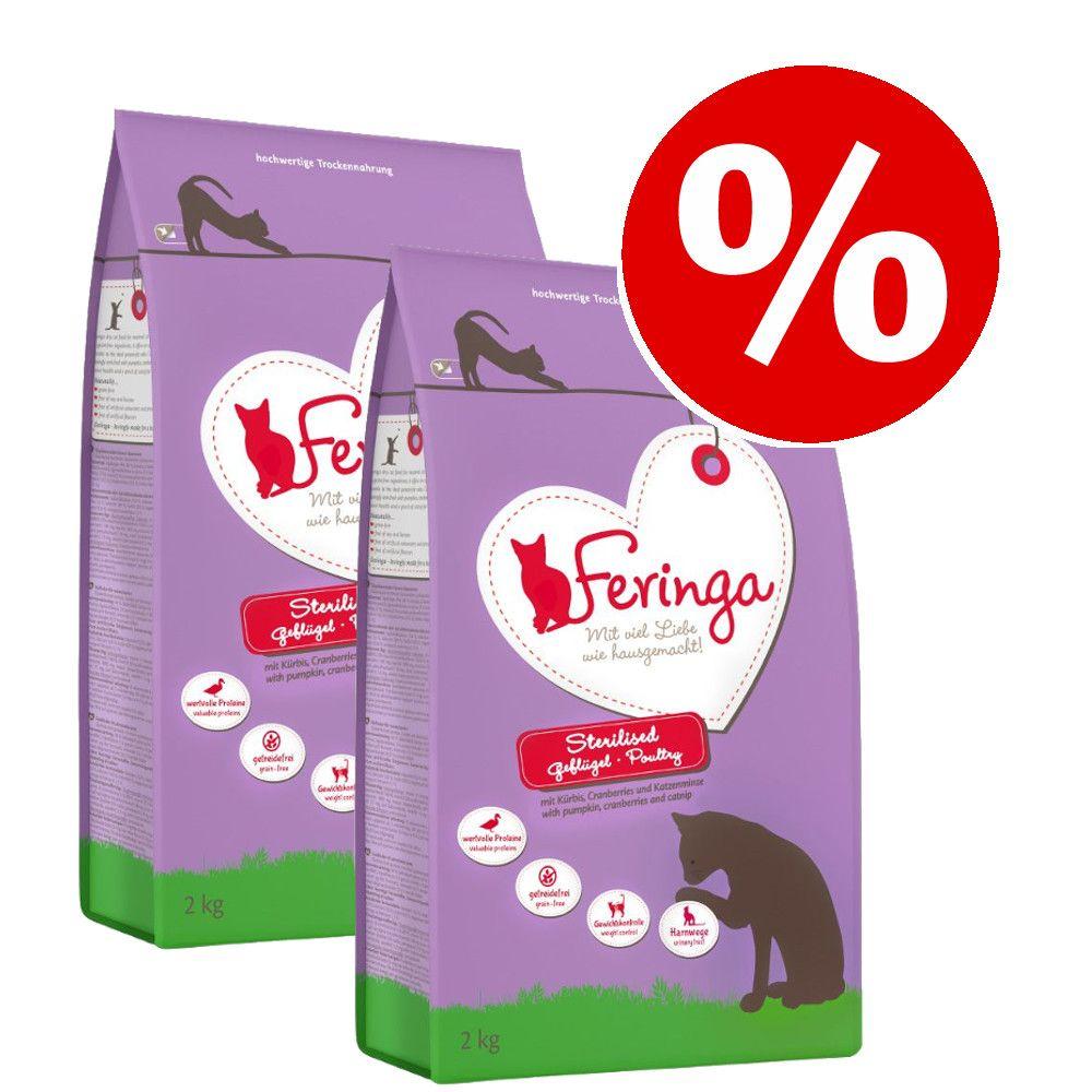 Feringa 2 x 6/6,5 kg pienso para gatos - Pack Ahorro - Adult con cordero y pollo (2 x 6 kg)